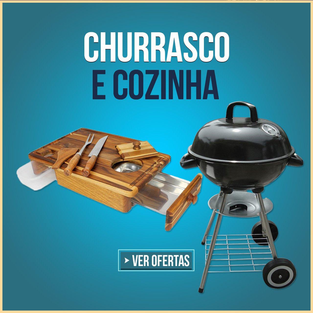 CHURRASCO E COZINHA