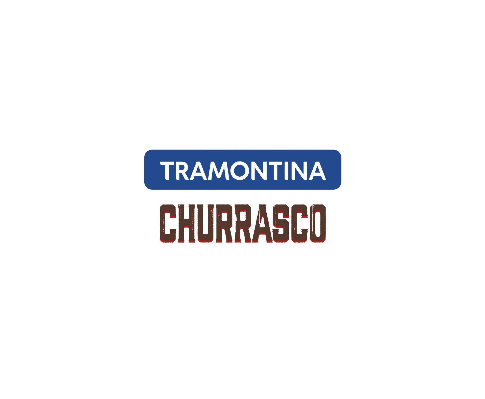 Kit P/ Churrasco 3 Pçs Sortidos com Laminas de Aço Inox e Cabos de Mad. - Tramontina