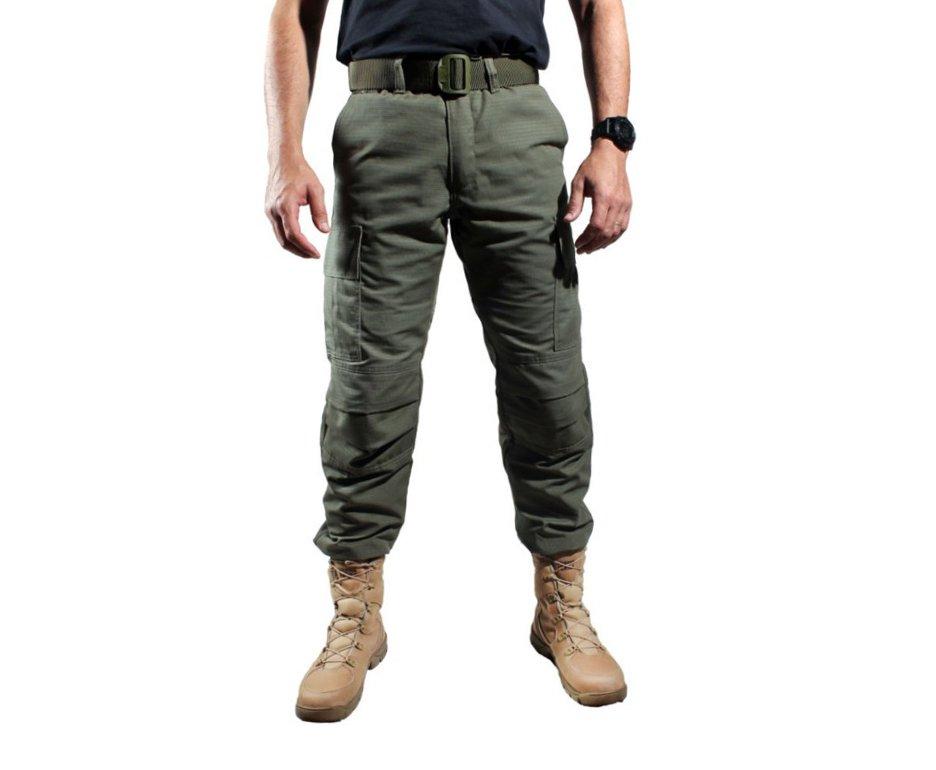 Calça Tatica 6 Bolsos Combat Verde - Belica