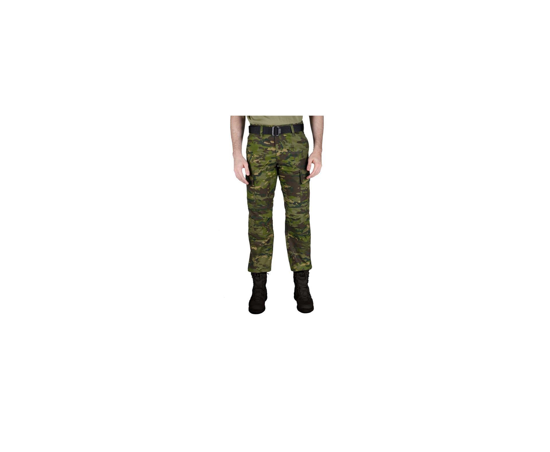 Calça Tatica Combat Camuflado Tropical - Belica