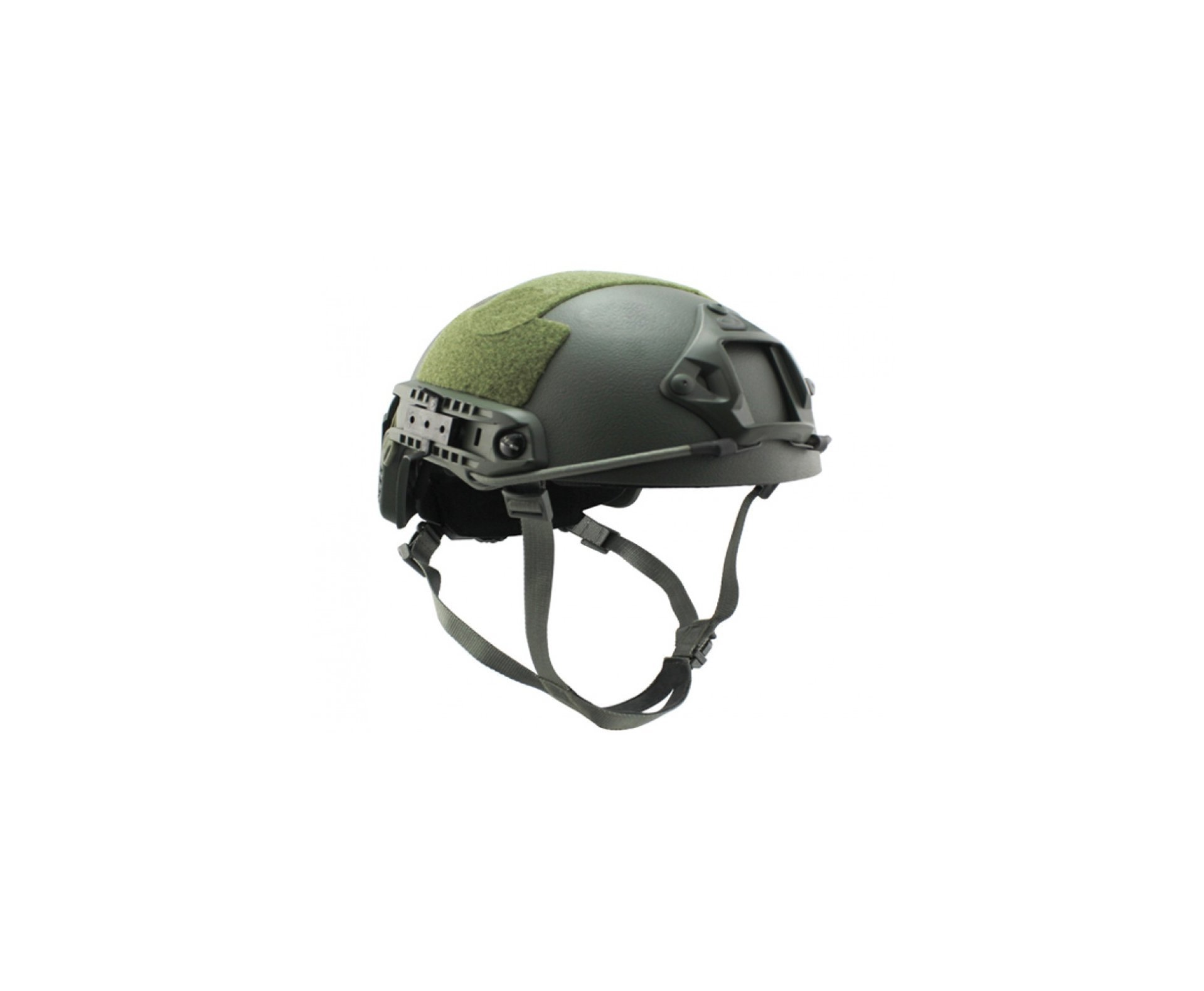 Capacete Tático Para Airsoft/paintball Mod Fast B Verde Oliva