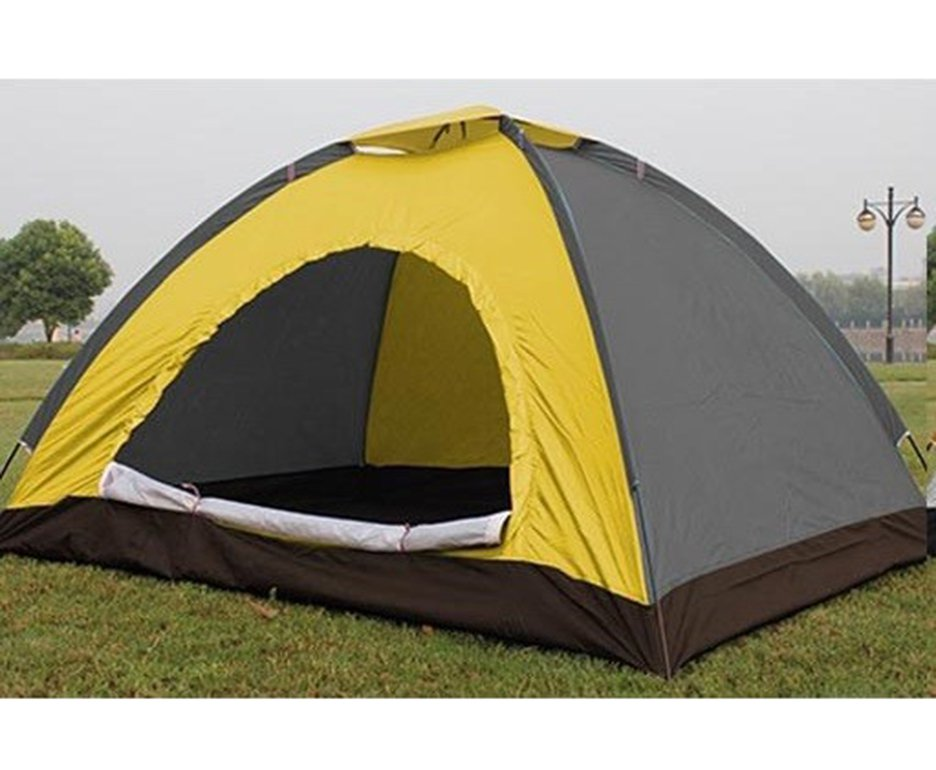 Barraca Camping Albatroz Iglo 3/4 Pessoas Am/cz 1500mm Coluna Dagua