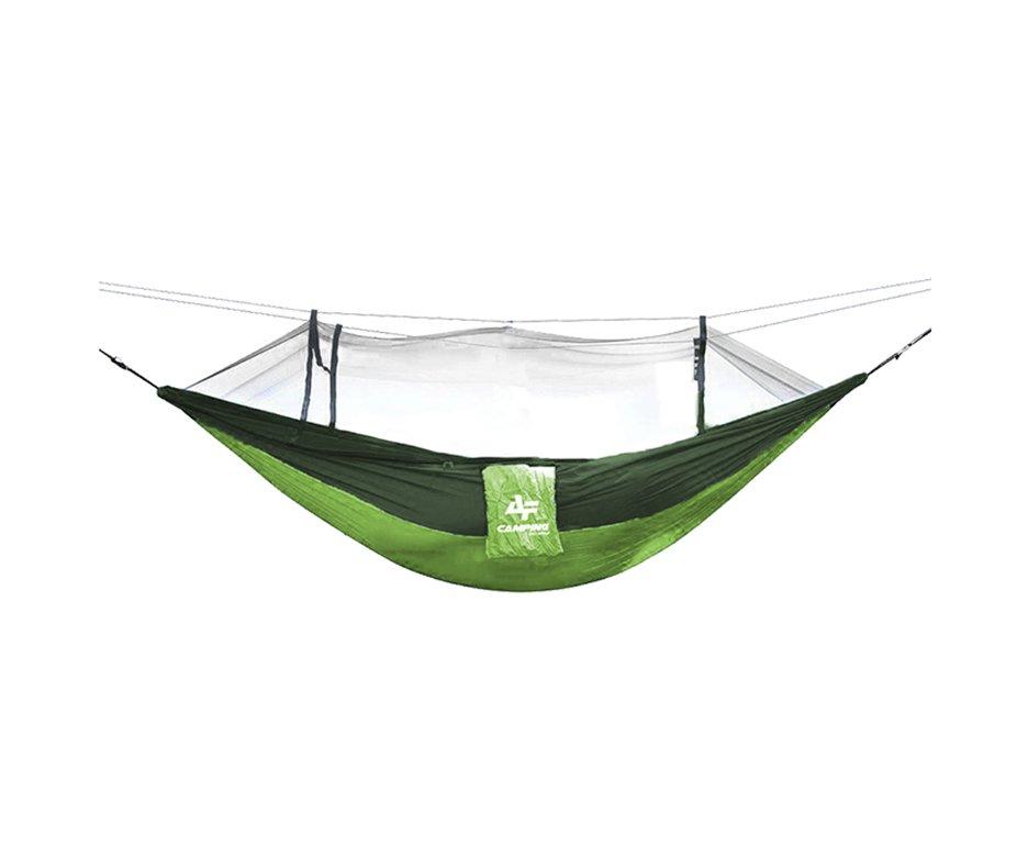 Rede Camping Para Descanso Com Mosqueteiro Verde - Albatroz