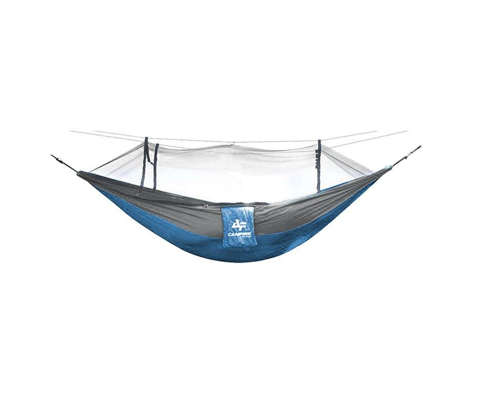 Rede Camping Para Descanso Com Mosqueteiro Azul - Albatroz