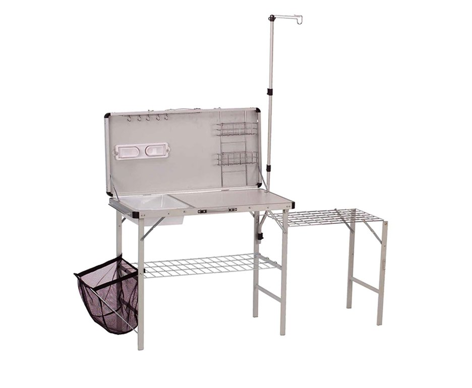 Kit Cozinha Pack-away Coleman Deluxe Camping/ Pescaria