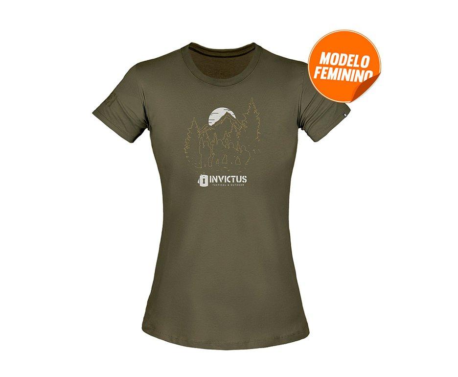 Camiseta T-shirt Invictus Concept Feminina Troop