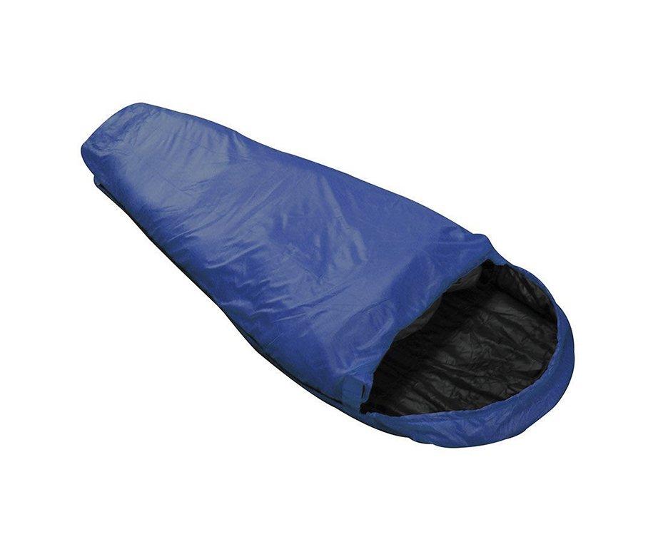 Saco De Dormir Micron 5°c à 8°c Azul E Preto - Nautika