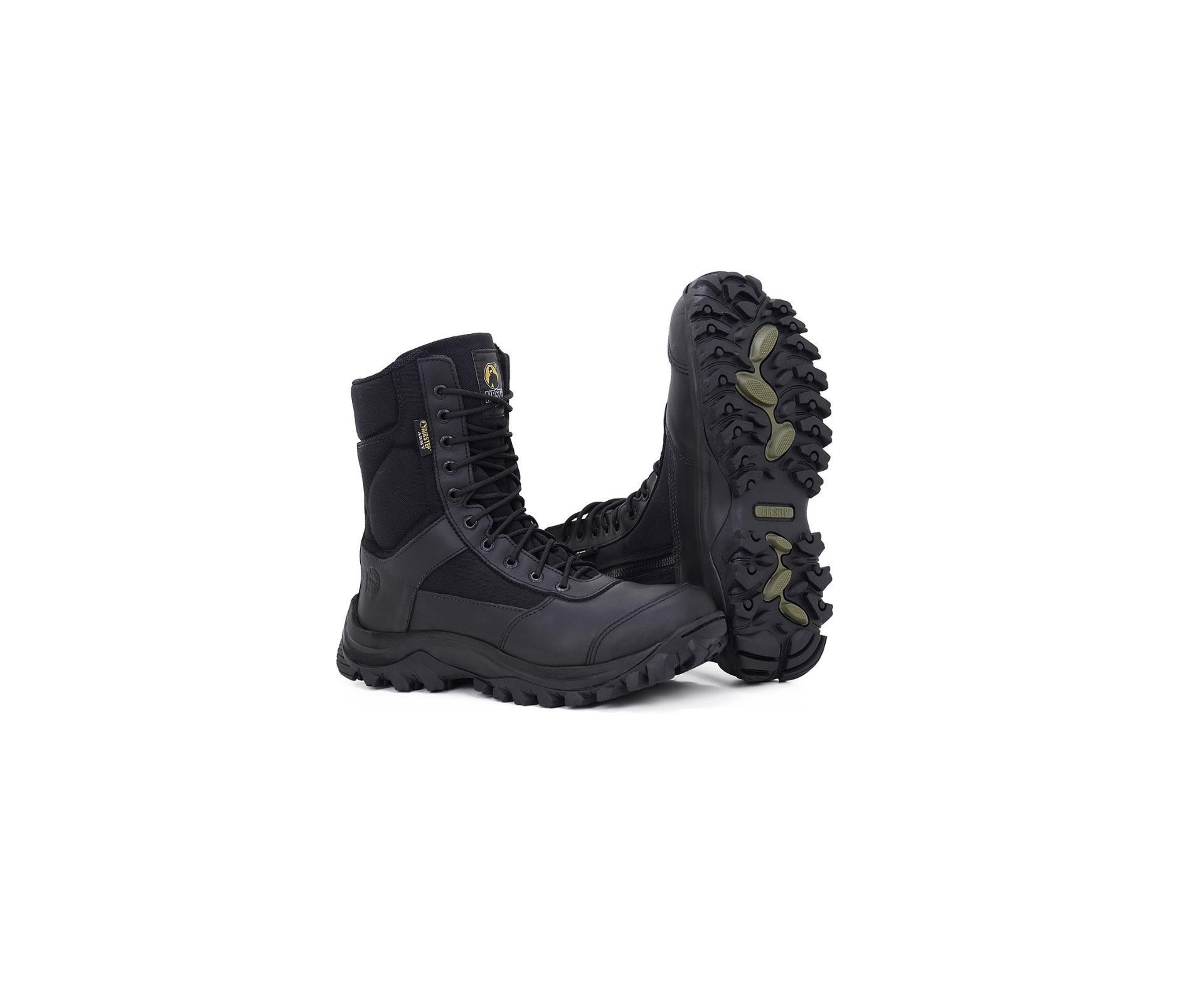 Coturno Bota Tático Airstep Easy Boot Light 8628 Preta