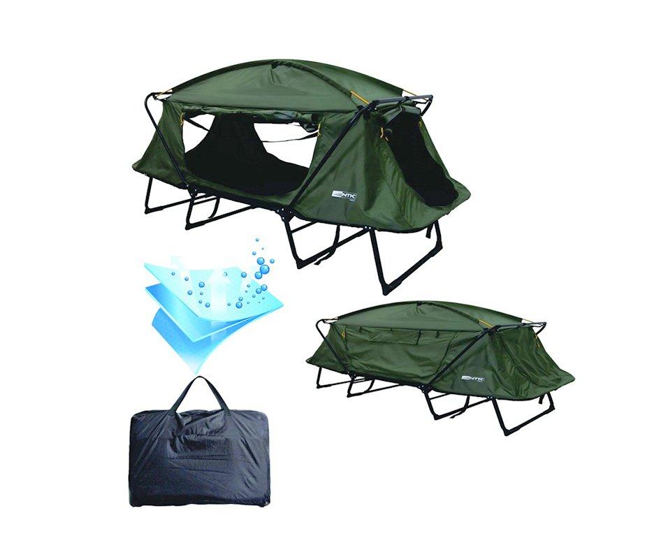 Cama Campanha Tatu Casal Para Camping 4 Em 1 Nautika