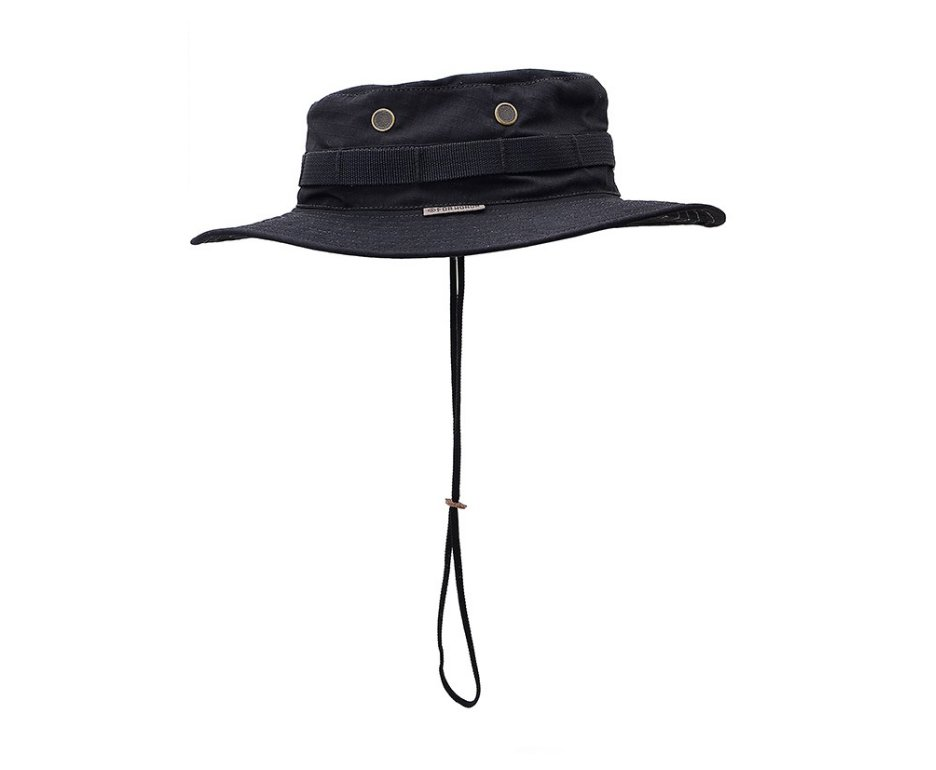 Chapeu Boonie Hat Forhonor Black