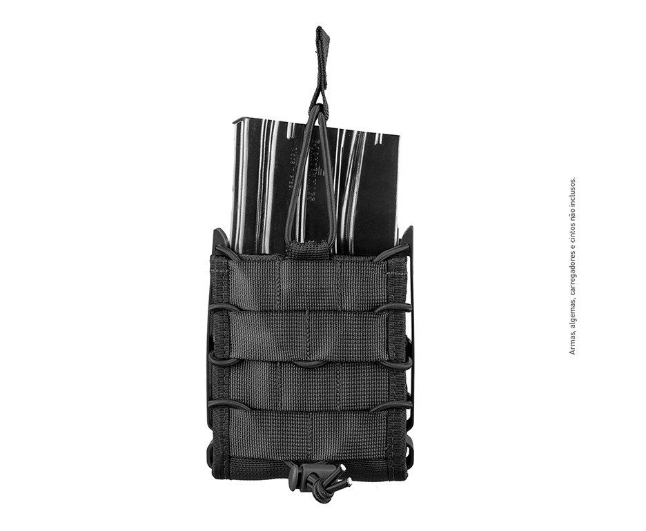 Porta Carregador Reload 7.62 Preto- Invictus