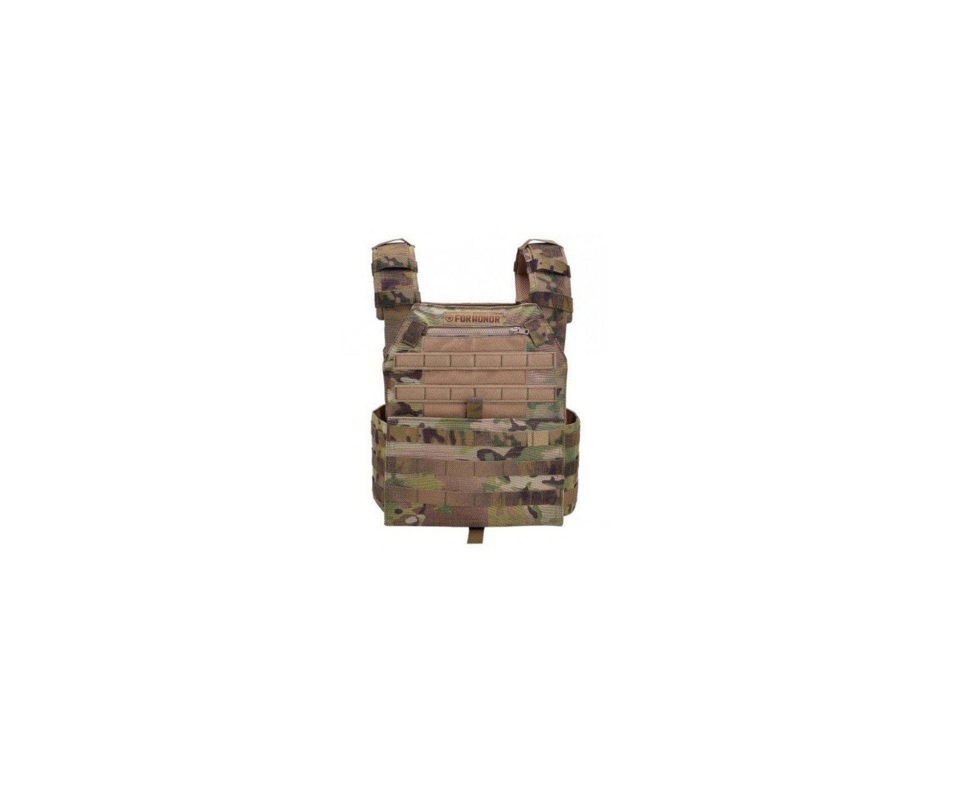 Colete Plate Usa Carrier Cordura 1000 2p Multicam Usa - Forhonor