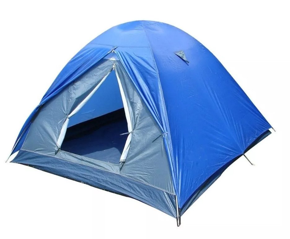 Barraca Para Camping Fox 7/8 Ntk Até 8 Pessoas Com 1800 Mm De Coluna D'água Fácil De Armar
