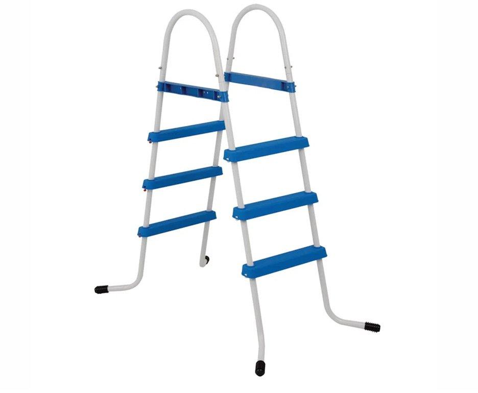 Escada Para Piscina Inflável E Estrutural Com 3 Degraus - Mor