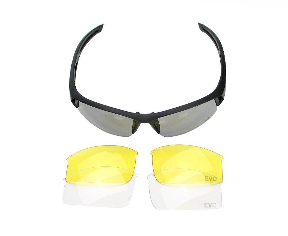óculos De Proteção Tático Osprey Preto Evo - G030bk