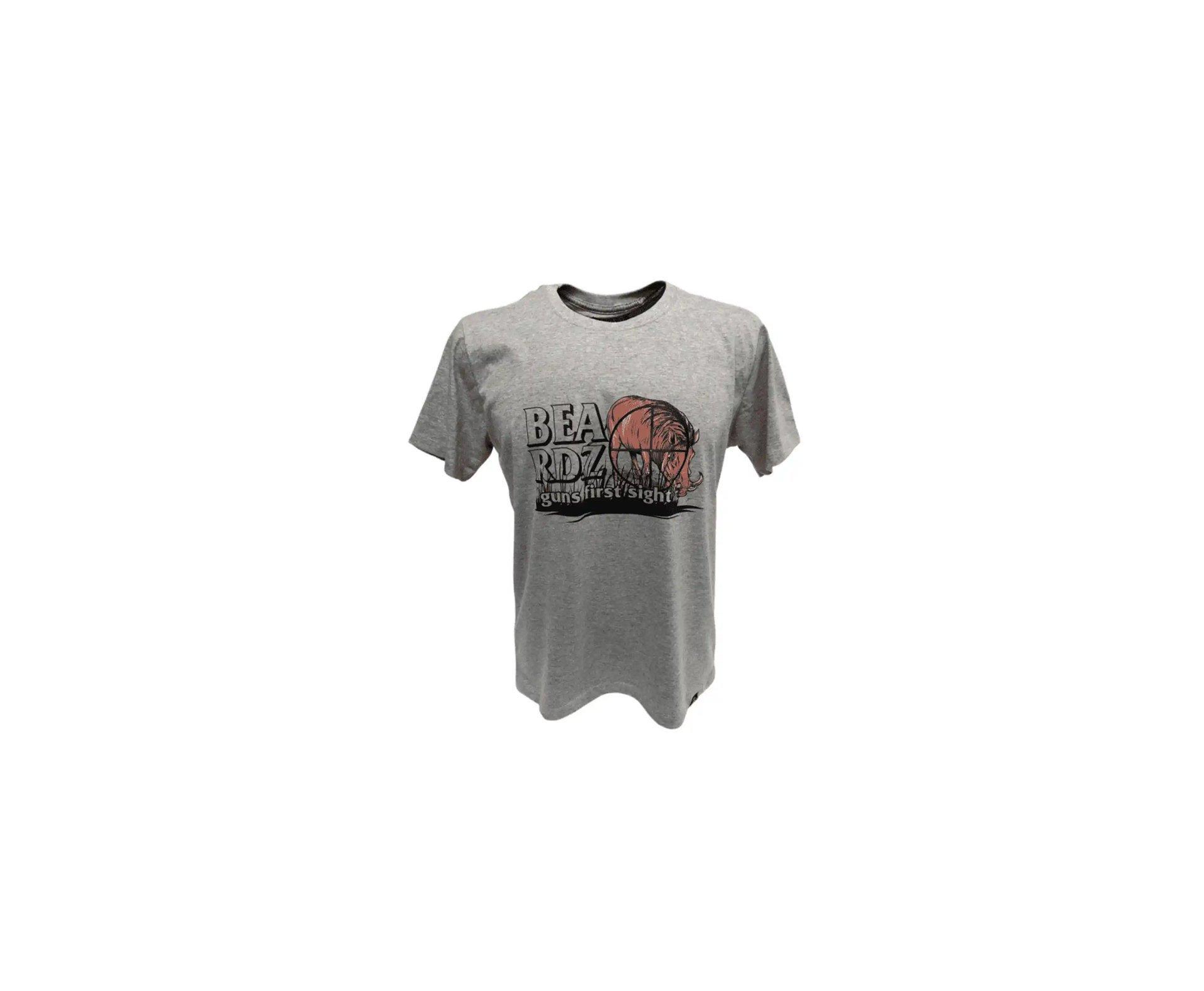 Camiseta Masculina Beardz Javali Wild Boar Sight Ts33