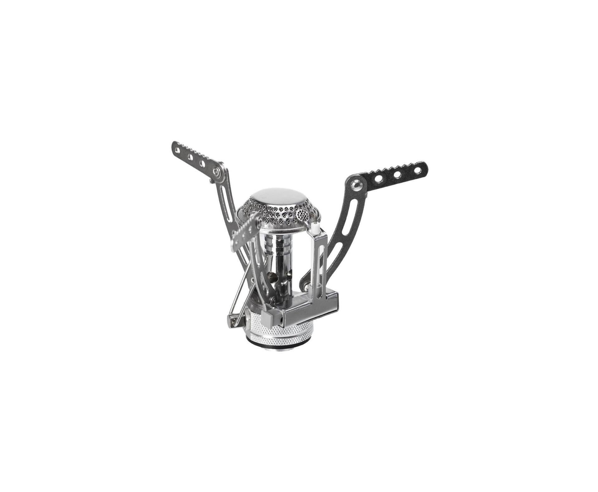 Mini Fogareiro Compact Inox - Guepardo