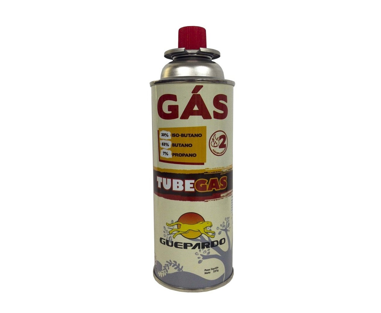 Refil Tube Gás 227 Gr - Guepardo