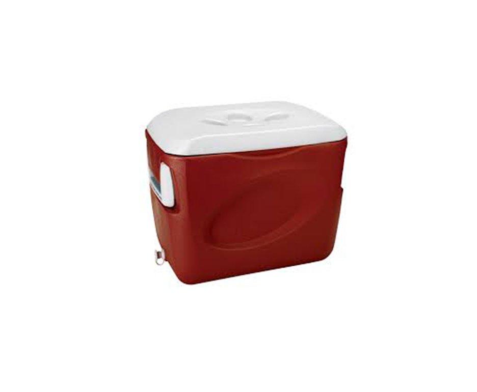 Caixa Termica 45l Com Alça - Vermelha - Invicta
