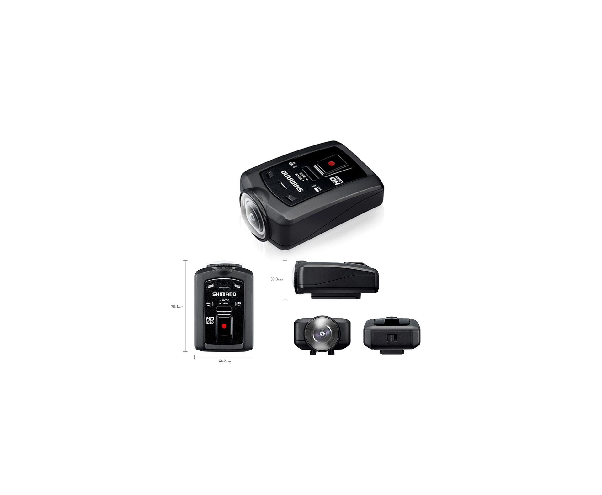 Camera Hd Digital à Prova D´água - Sport Camera Cm-1000 - Shimano
