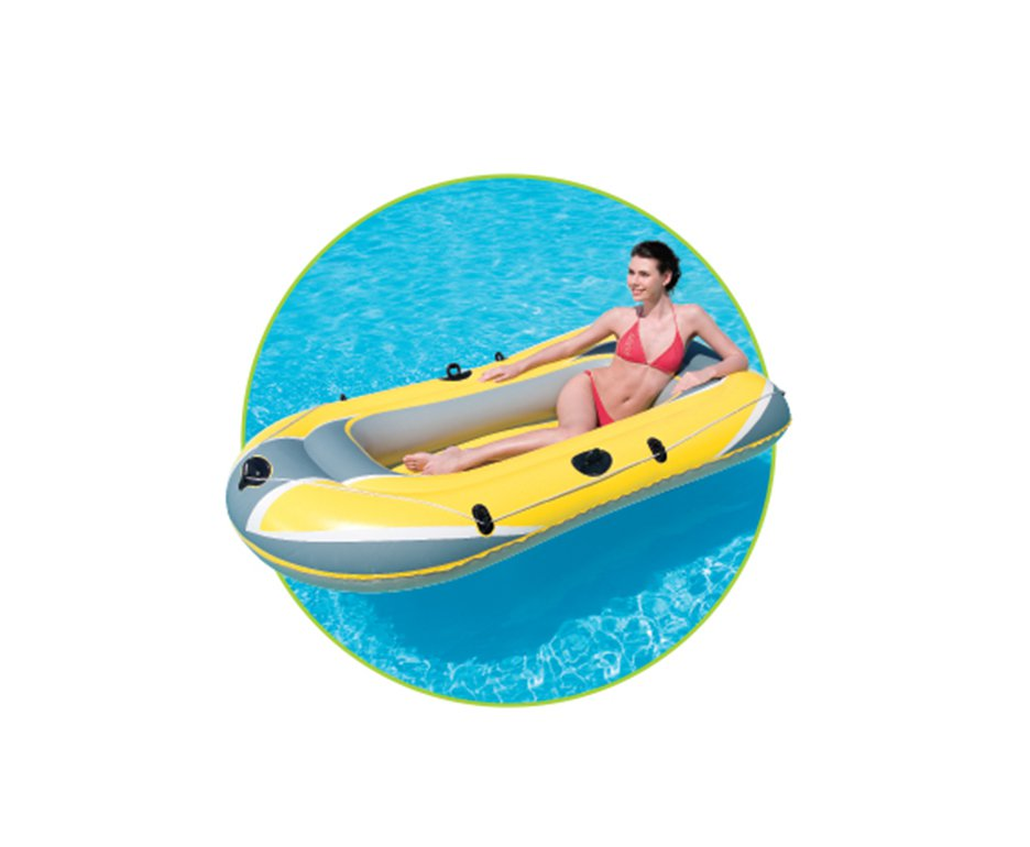 Bote Inflavel Hydro - Force Raft 2.28 X 1.21 - 3p - Echolife