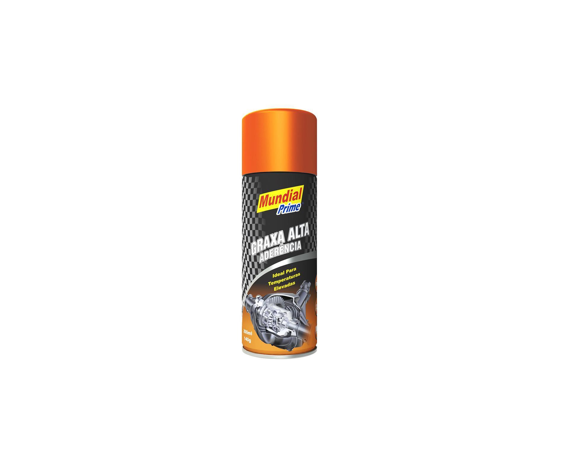 Graxa Alta Aderência Spray 200ml - Mundial Prime