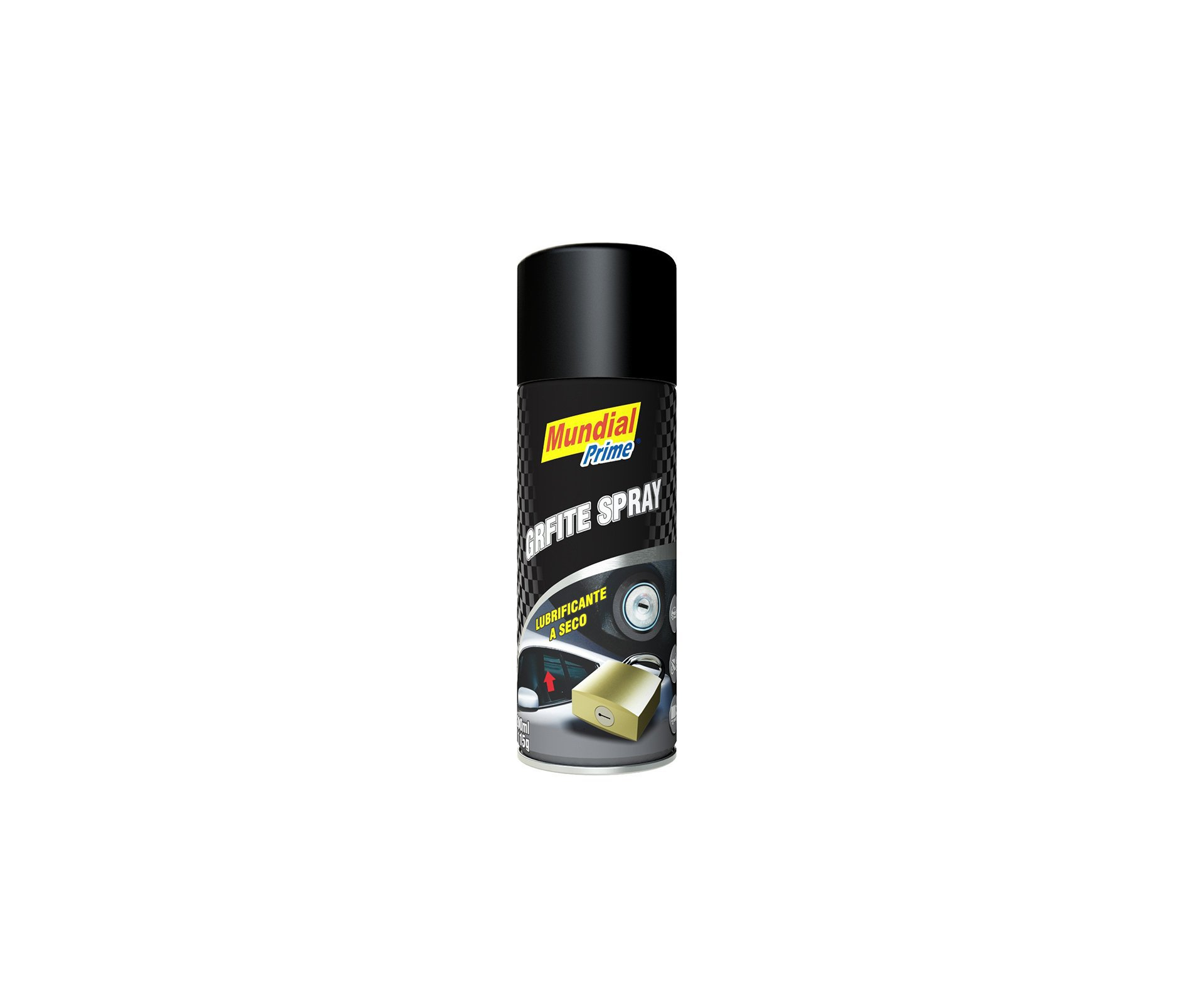 Grafite Em Po Spray 200ml - Mundial Prime
