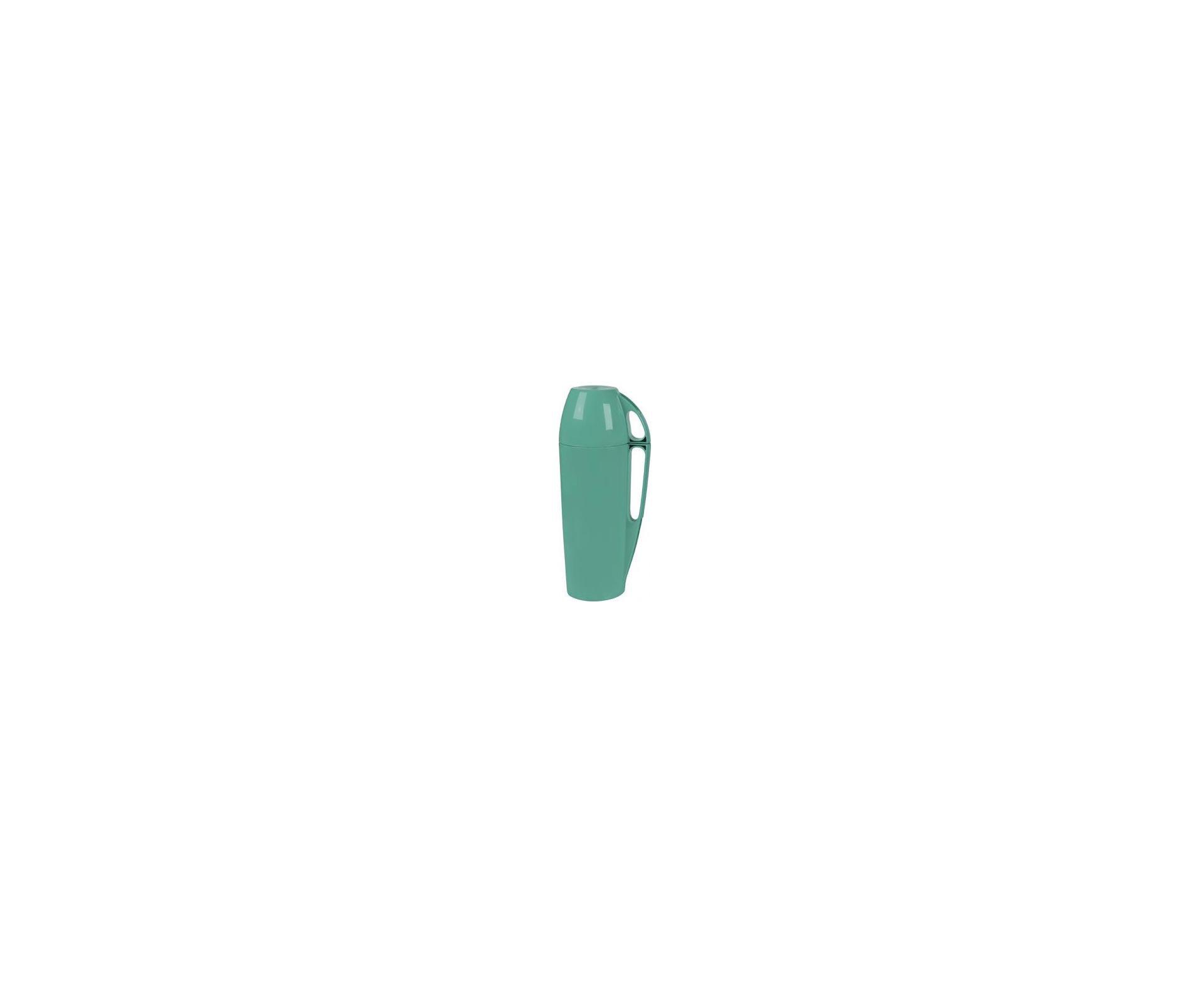 Garrafa Térmica Eleganza 1,0 Litro Turquesa - Mor