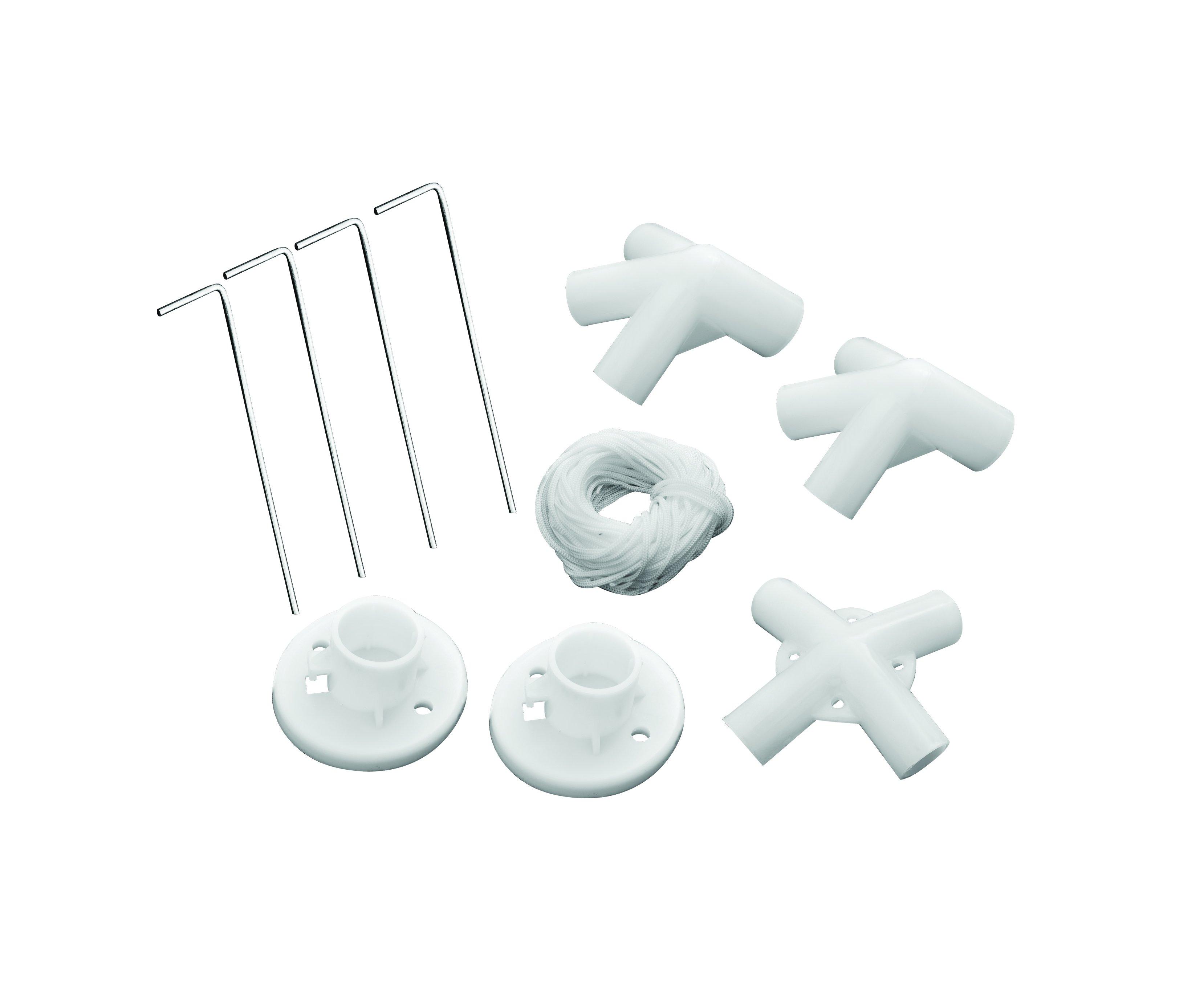 Kit Conectores E Reparo Para Gazebo 2,4 X 2,4 - Mor