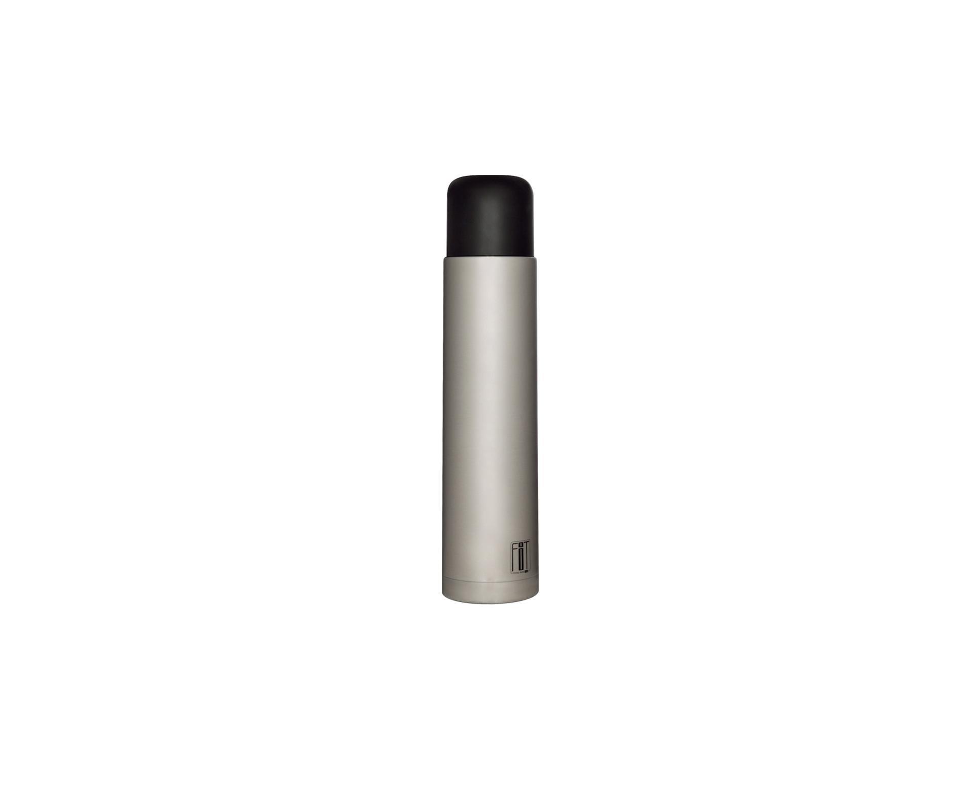 Garrafa Térmica Total Inox Fit 1,0 Litro  - Mor