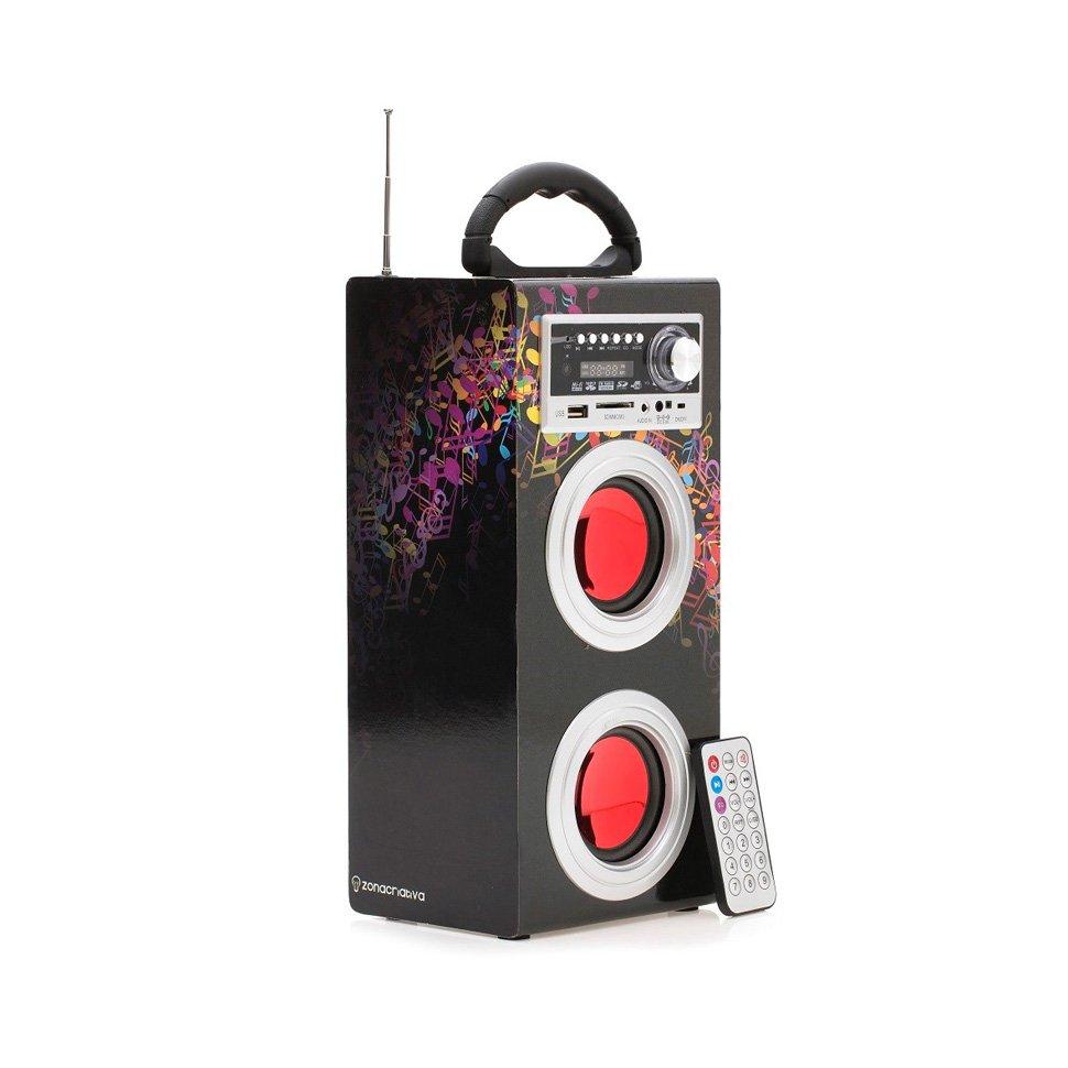Amplificador Speaker Caixa De Som Colors - Zona Criativa