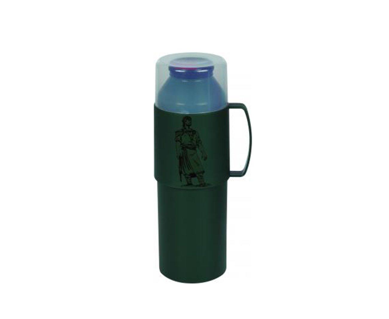 Garrafa Térmica Farroupilha 1,0 Litro Verde 25100602 - Mor