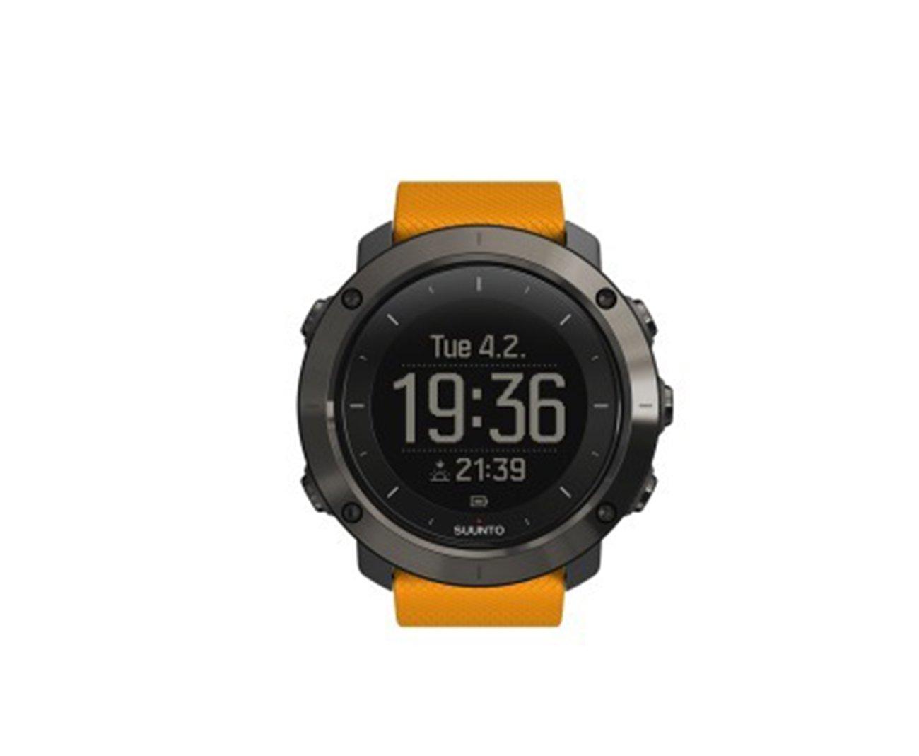 Relógio Amber Interface Com Pc E Apple - Sistema Gps E Glonass Integrado - Suunto
