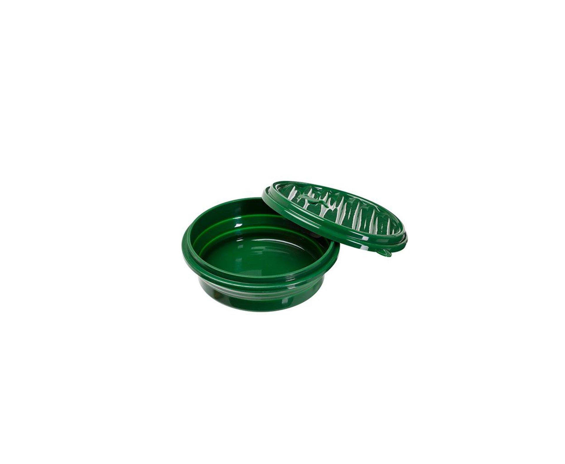 Prato/pote Silic Dobrável Compact - Guepardo