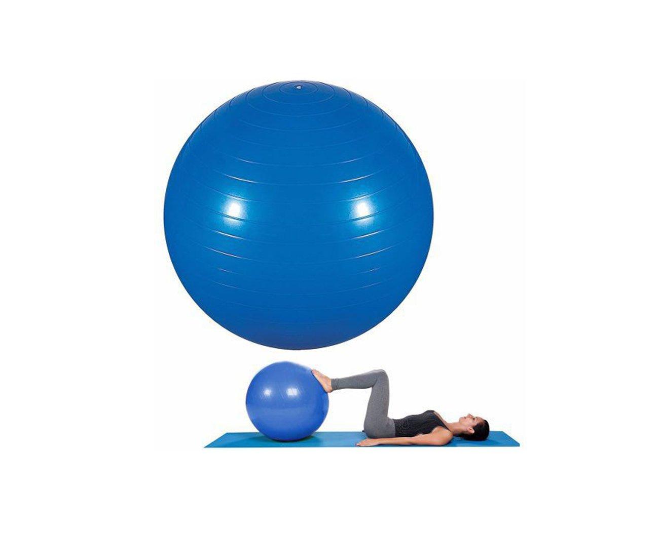 Bola Ginastica Yoga Pilates 75cm Azul - Mor