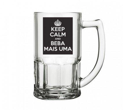 Caneca De Chopp - Keep Calm And Beba Mais Uma