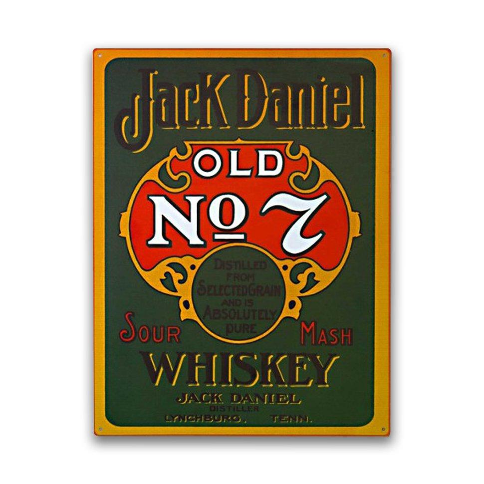 Placa Decorativa - Jack Daniels Old - 39x30 Cm - All Classics