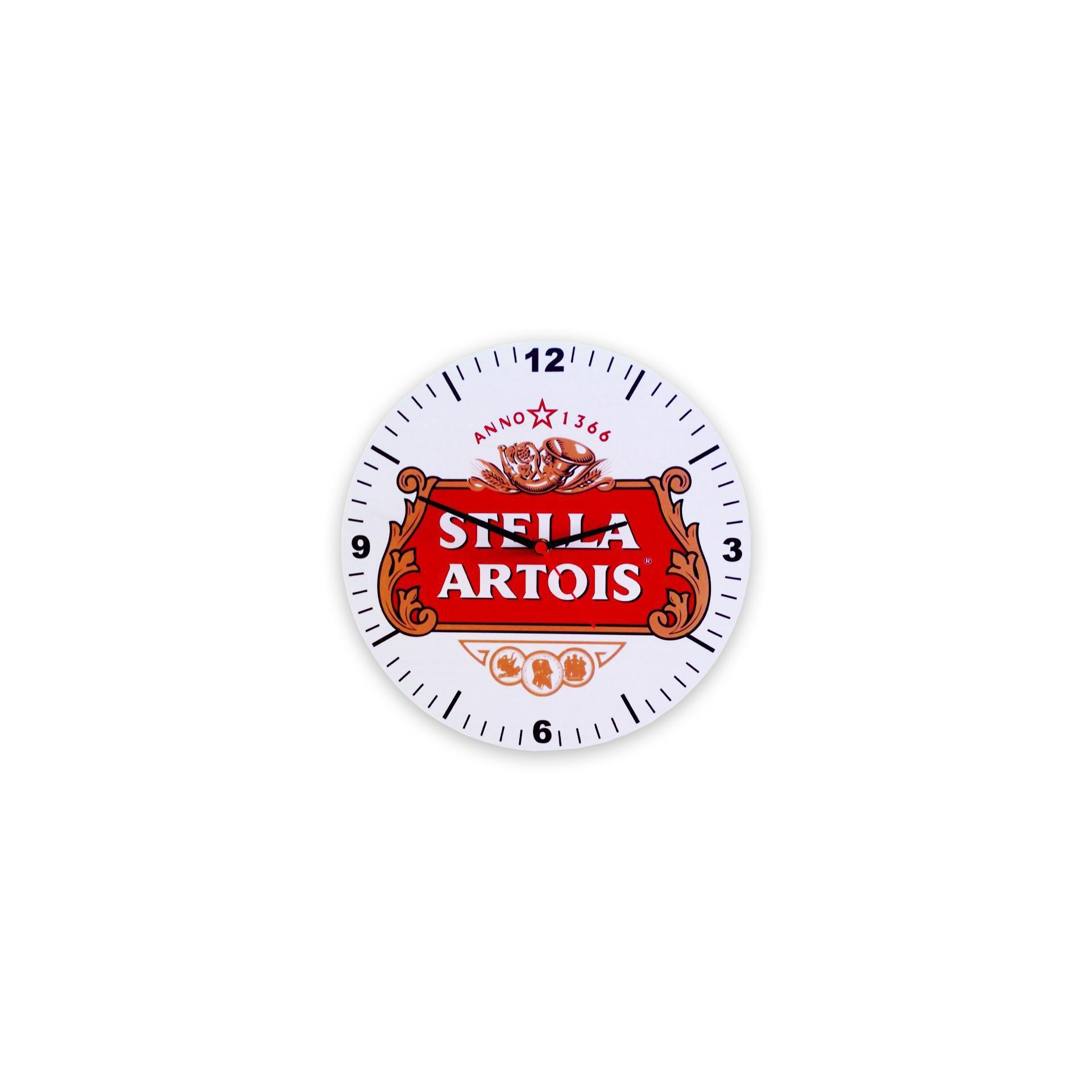 Relógio De Parede Decorativo - Stella Artois - All Classics