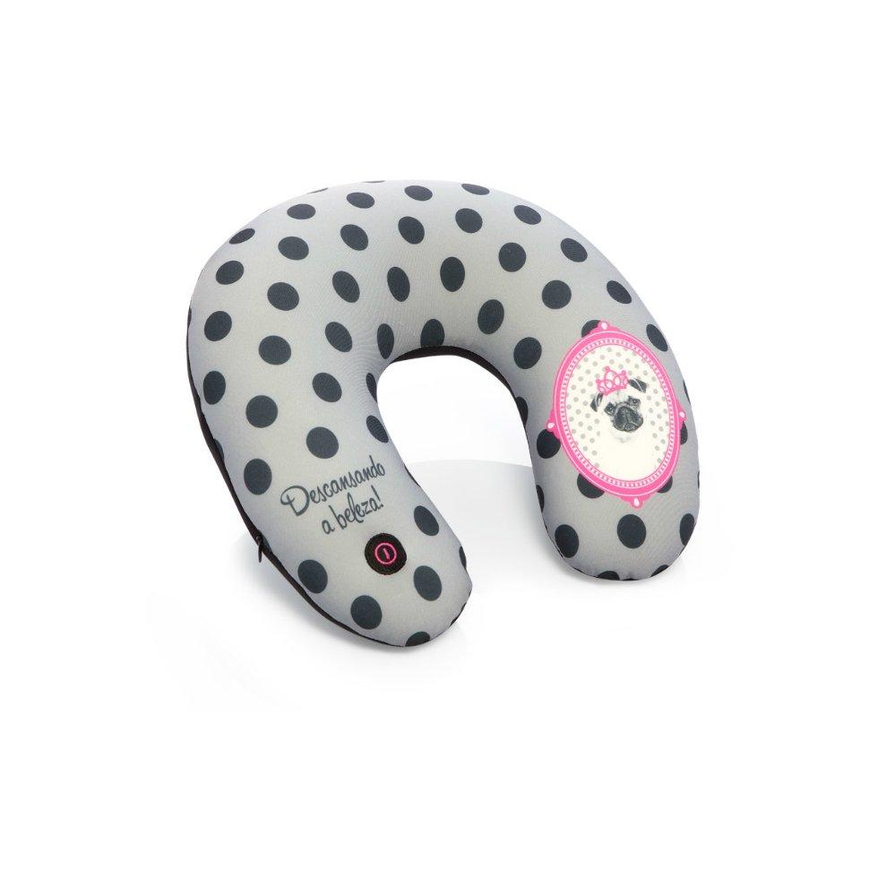 Almofada Massageadora - Pink Pug