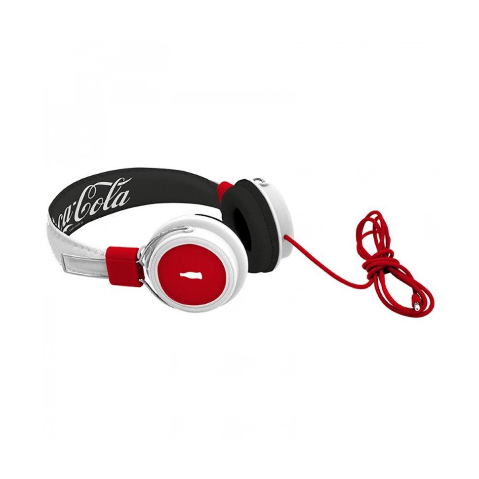 Headphone Refresh Vermelho E Branco - Coca-cola