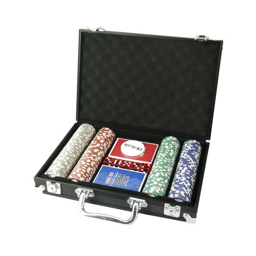 Jogo De Poker Com Maleta De Alumínio - 200 Peças - Dclub Tabacaria