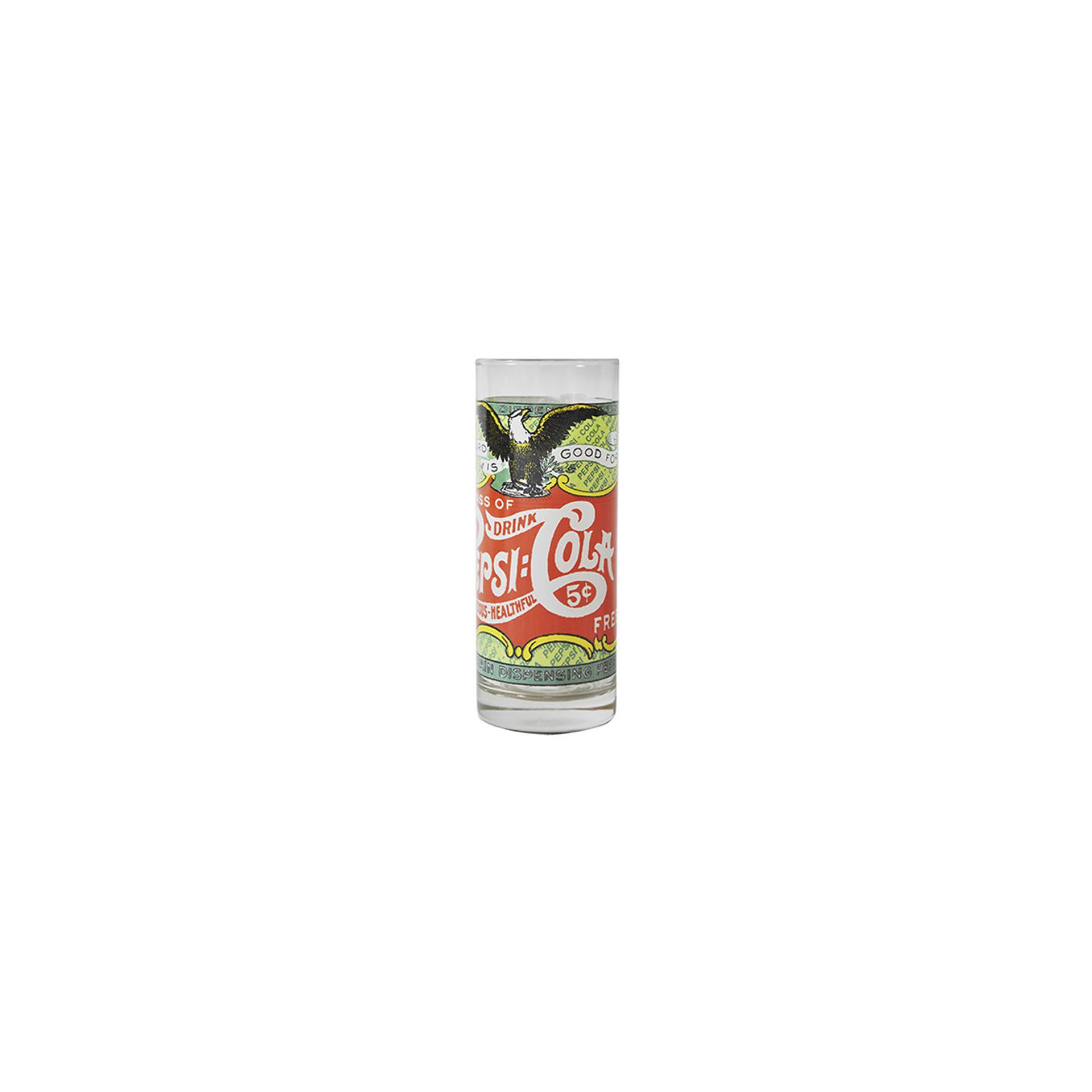 Copo Alto De Vidro - Rótulos Verde - 350 Ml - Pepsi-cola