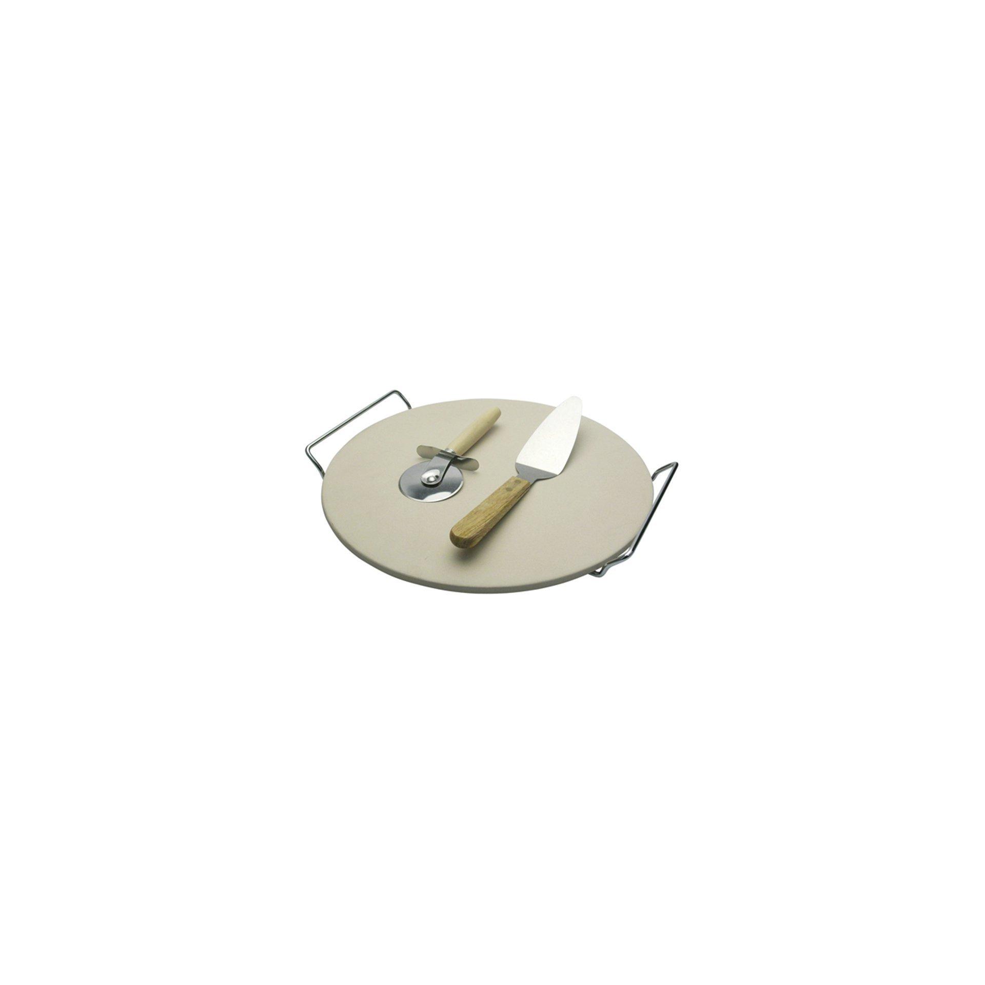 Conjunto Para Pizza Em Cerâmica - 38 Cm - 4 Peças