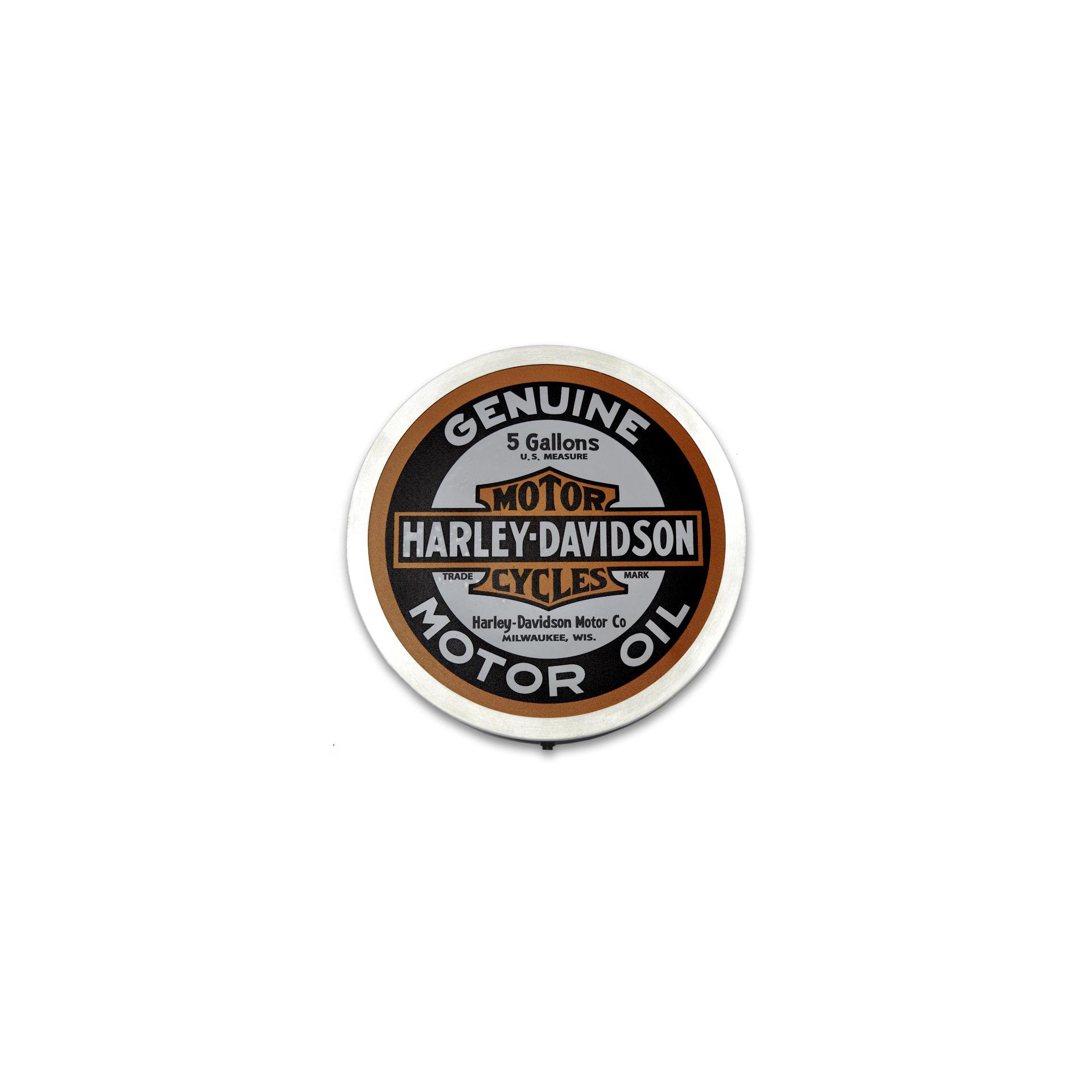 Luminoso Decorativo - Harley Davidson - 31 Cm