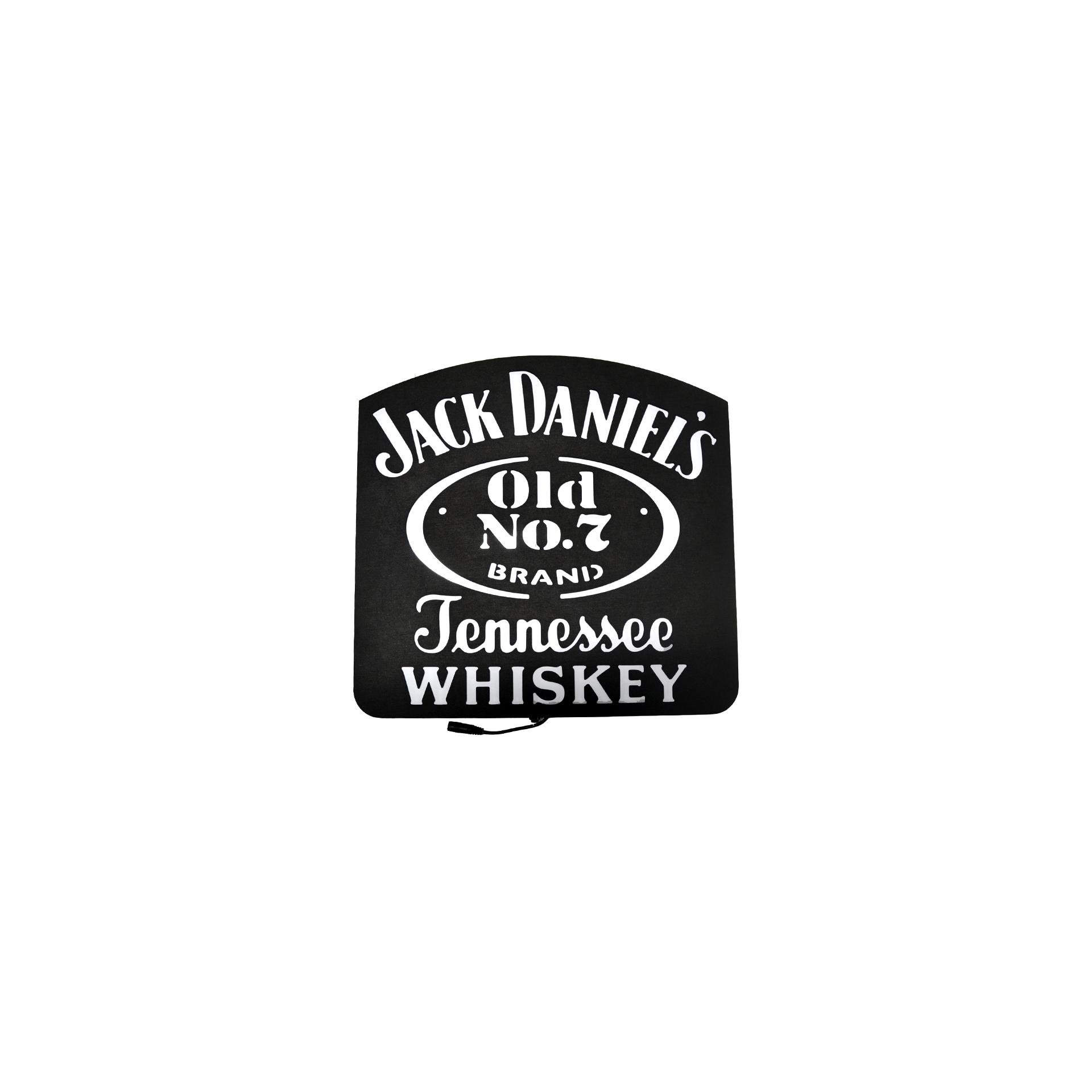 Luminoso Decorativo - Jack Daniels - Mdf