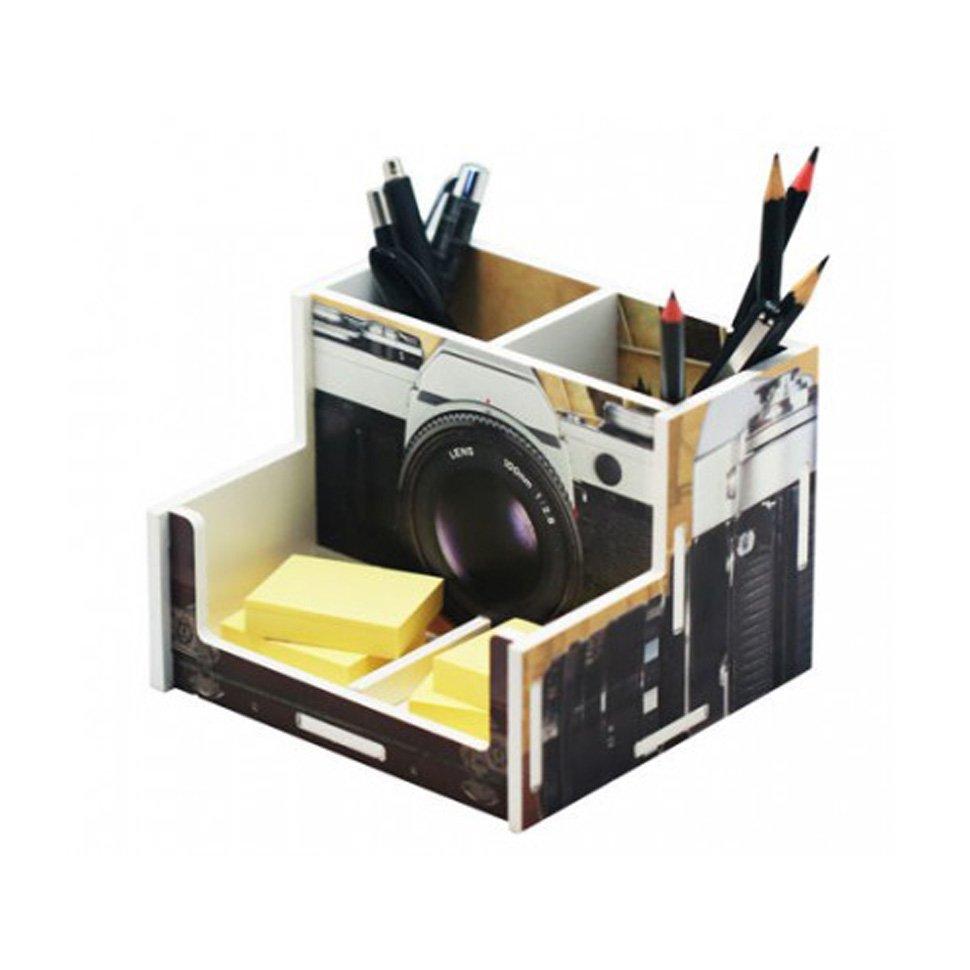 Organizador De Escritório - Câmera Fotográfica