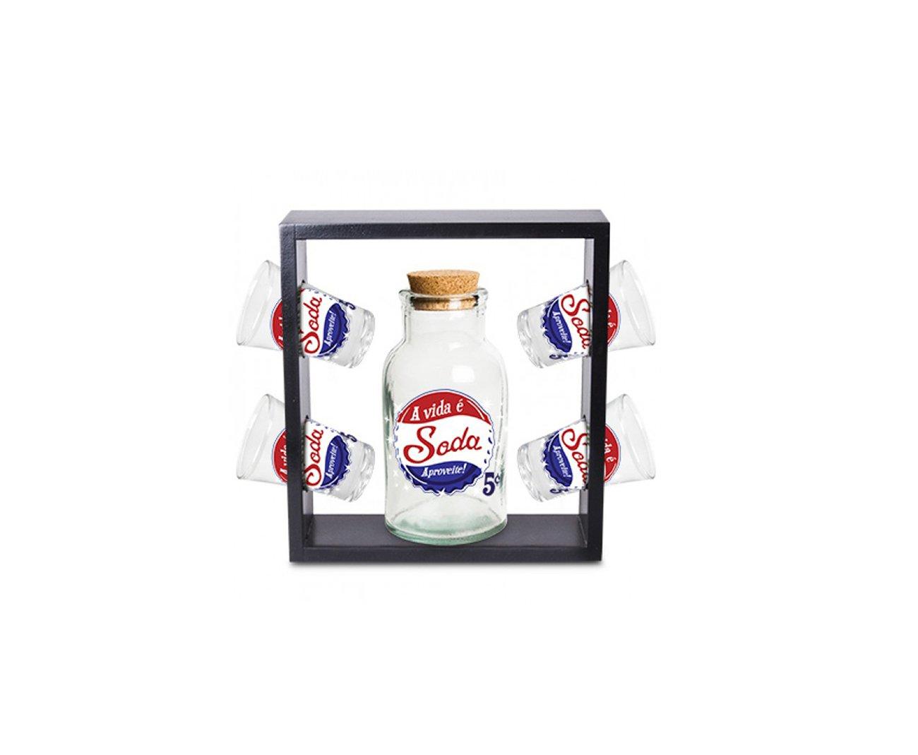 Kit Suporte Premium A Vida é Soda