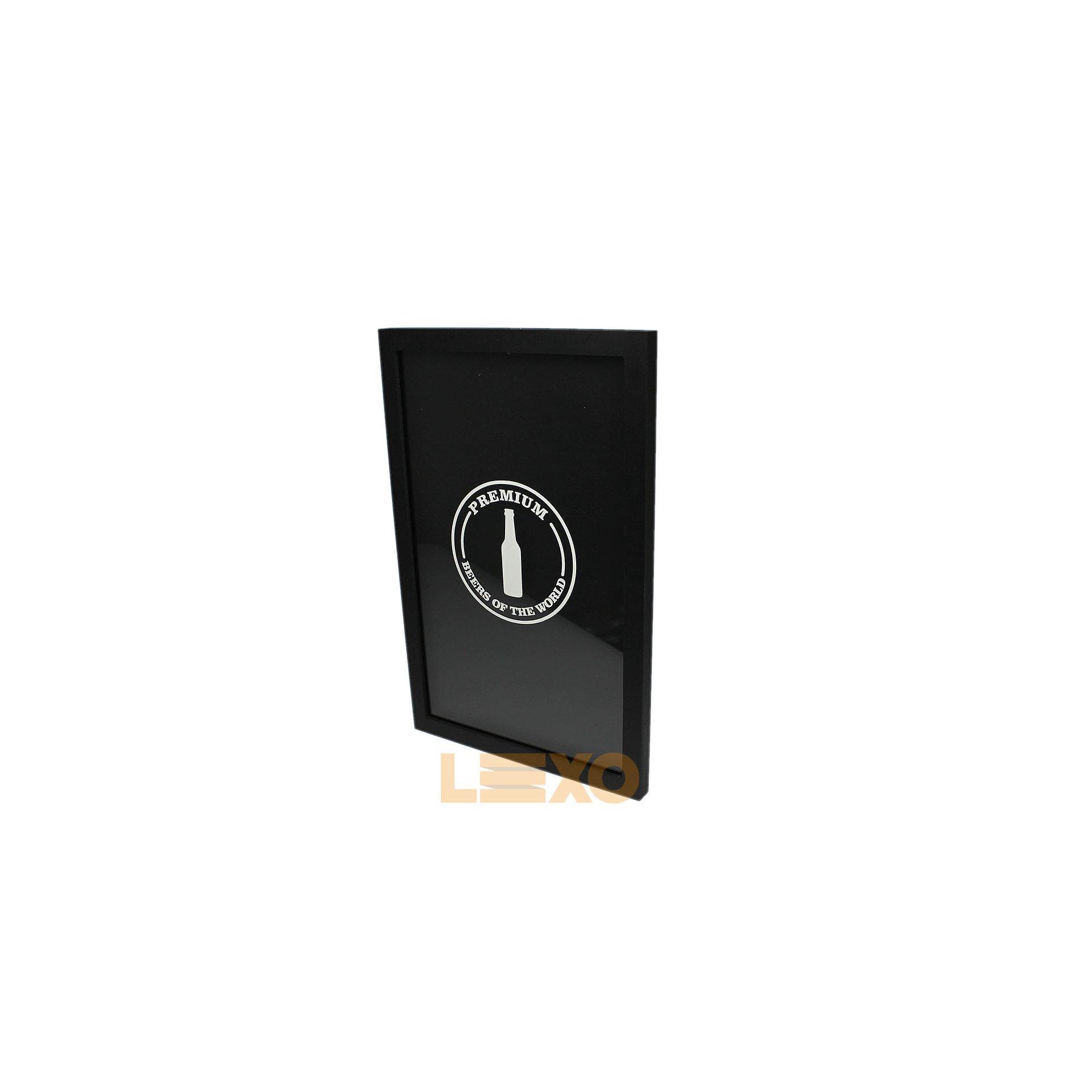 Quadro Portatampas Premium Grande/estreito - Bar Light