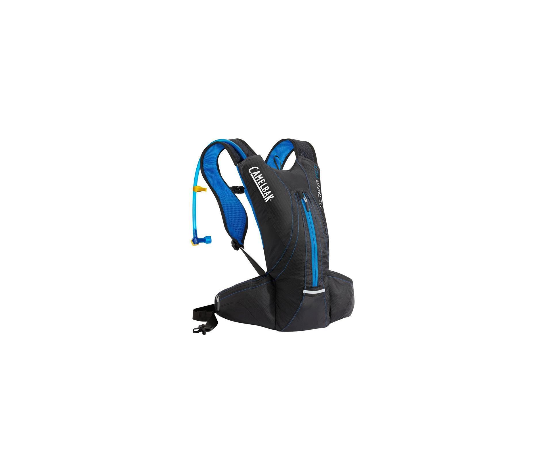 Mochila De Hidratação Octane Xct 2,0l - Preta/azul - Camelbak