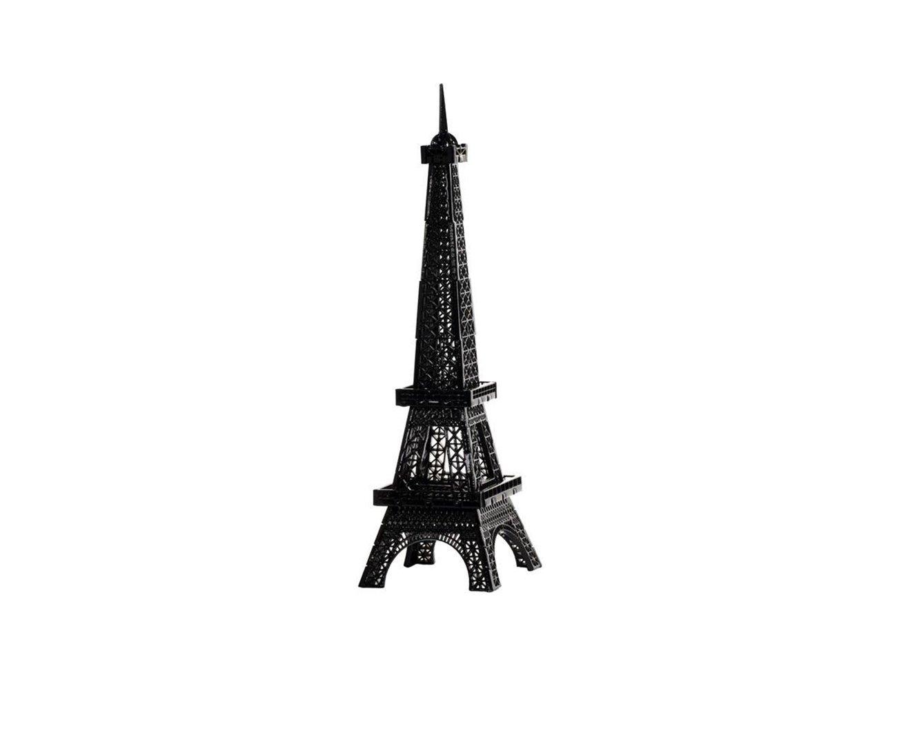 Mini Torre Eiffel Mod 01 - P-  Preto - Geton